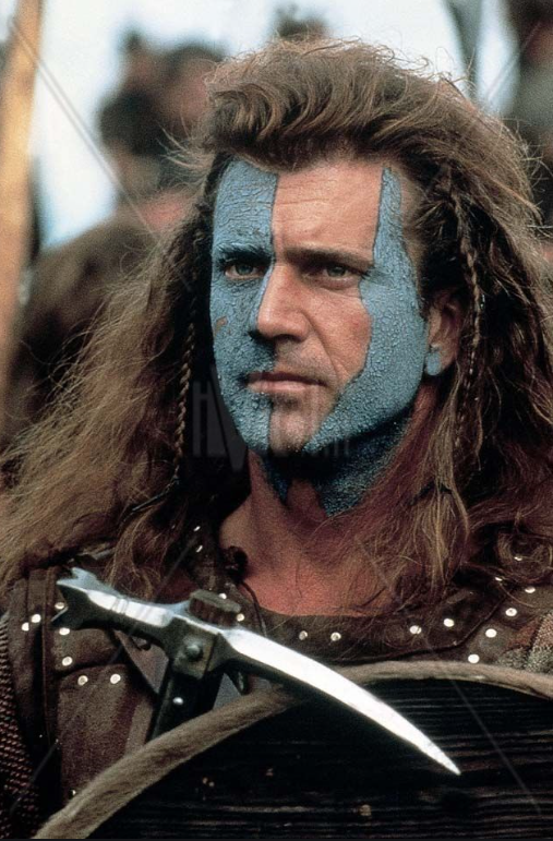 William Wallace Braveheart 1995 Aesthetic Movies Braveheart Mel Gibson