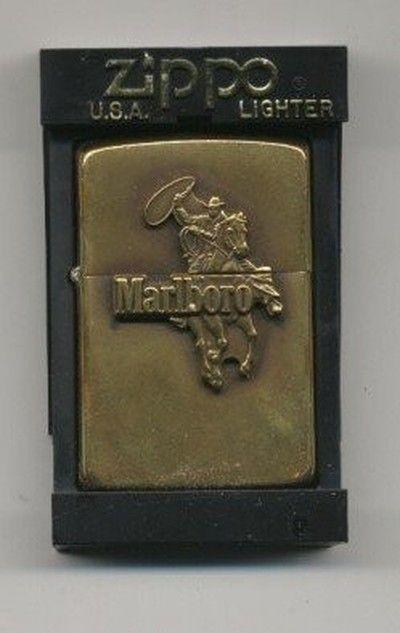 Zippo Lighter Marlboro Man Cowboy Brass Vintage Rare 07 30 2008 Zippo Lighter Zippo Lighter Marlboro Zippo