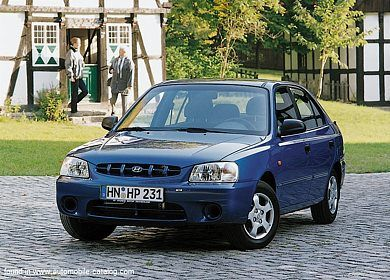 Hyundai accent 13 2001 classic circuit sports cars hyundai accent 13 2001 fandeluxe Image collections