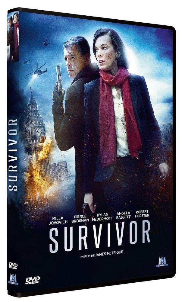 Survivor Avec Milla Jovovich Et Pierce Brosnan Dvd Films