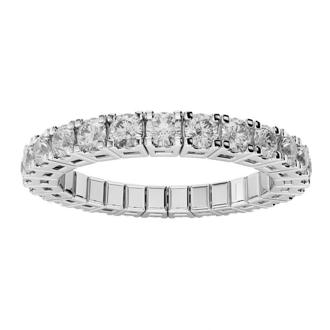 Diamond Flexible Wedding Band Pertaining To Wedding Diamond Band