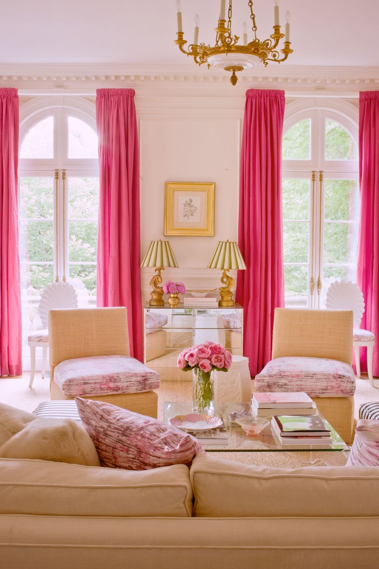 Pin By Lularoe Betsy Burke On Haute Decor Feminine Pink Living