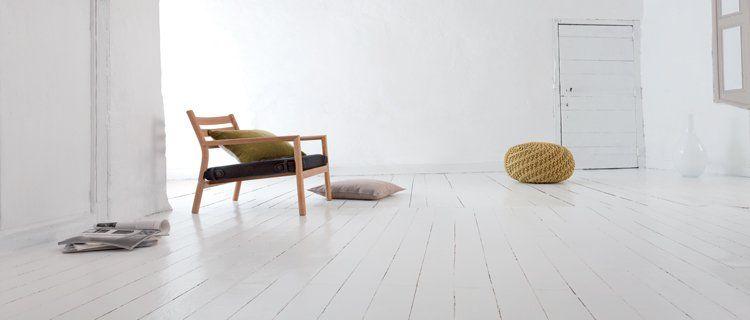 Peindre un parquet stratifié ou en bois verni sans poncer parquet - Repeindre Un Meuble Vernis En Bois