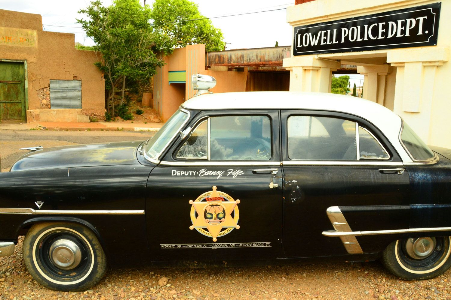 Vintage Police Cop Car Vehicle In Lowell Arizona Old Cars Vintage Cars Bisbee Arizona Law Enforcement 8 X 10 Quality Ph Police Cops Fire Trucks Law Enforcement