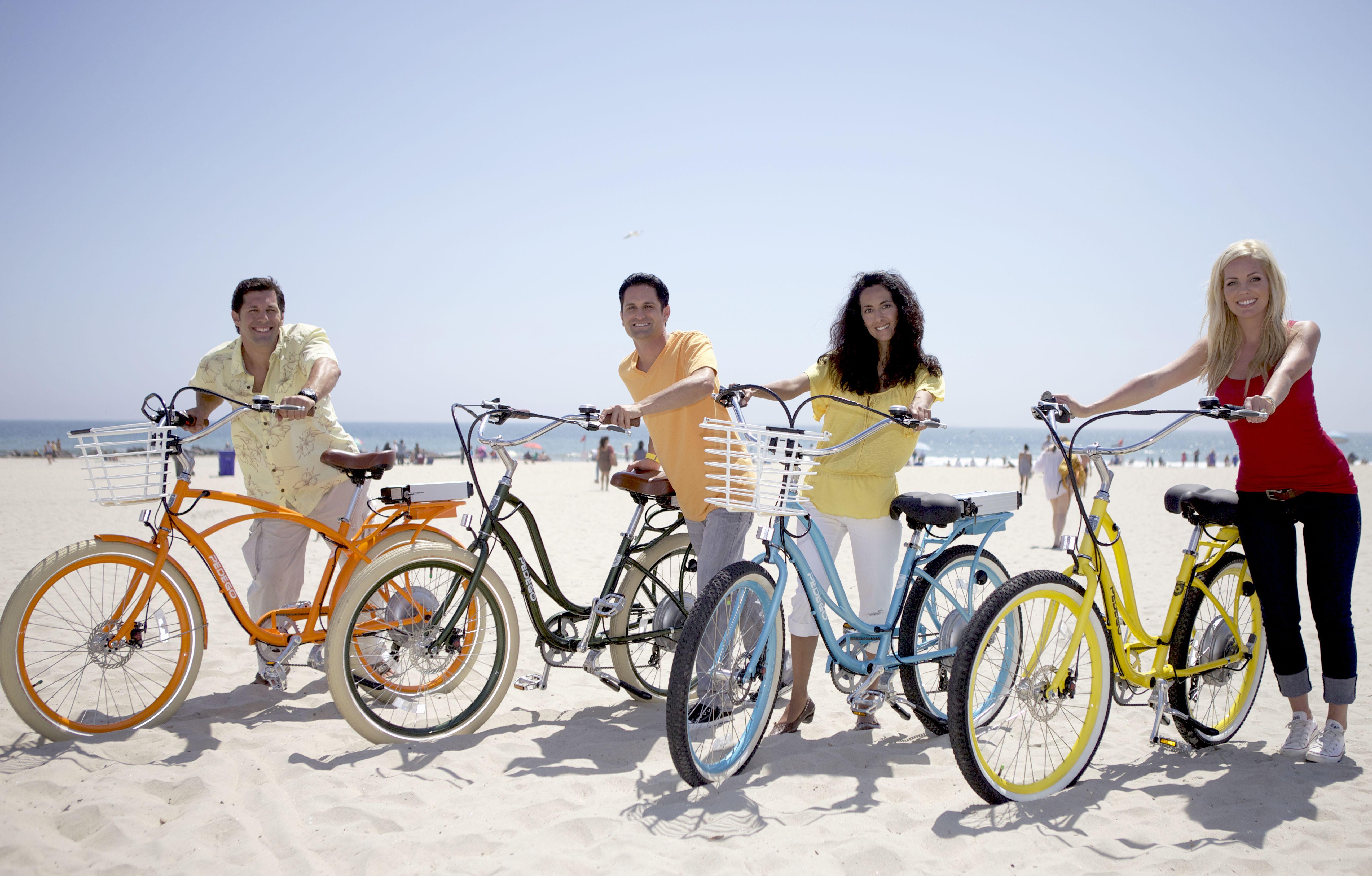 Fashionable beach cruisers bike tour venice beach