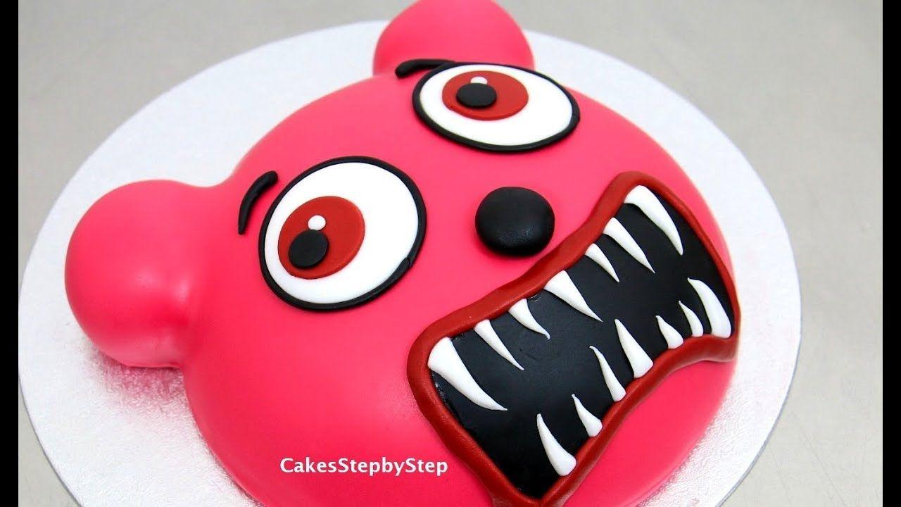 Gummy Bear Zombie Cake How To by Cakes StepbyStep cakes