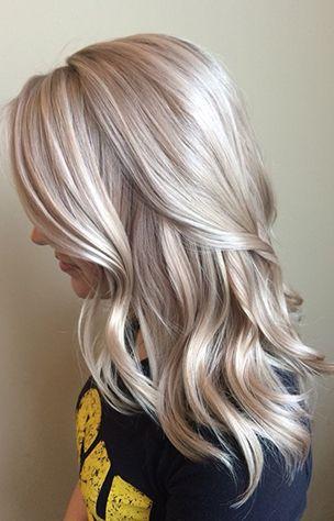 Terrific Blonde Hair Color Trend Hair Styles Pinterest White Honey Hairstyles For Women Draintrainus