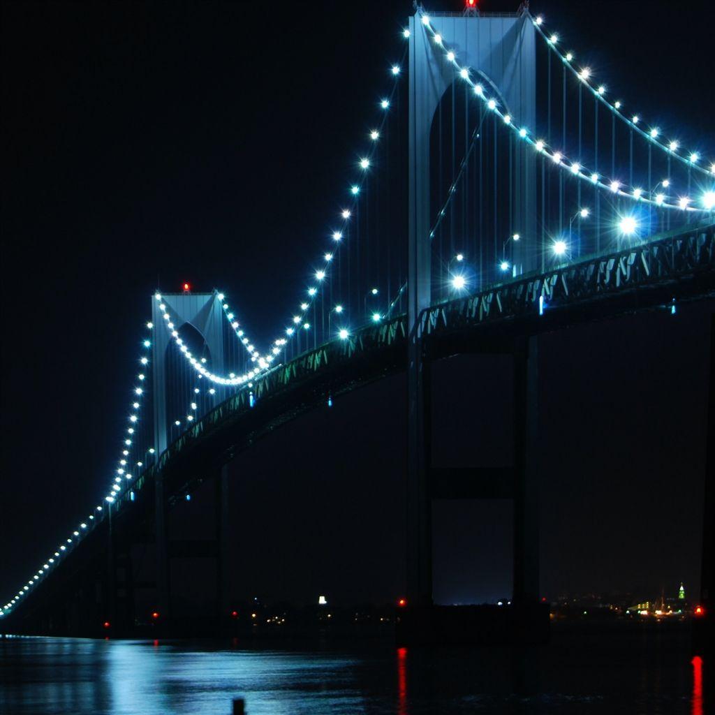 Newport Bridge Rhode Island IPad Air Wallpaper Download