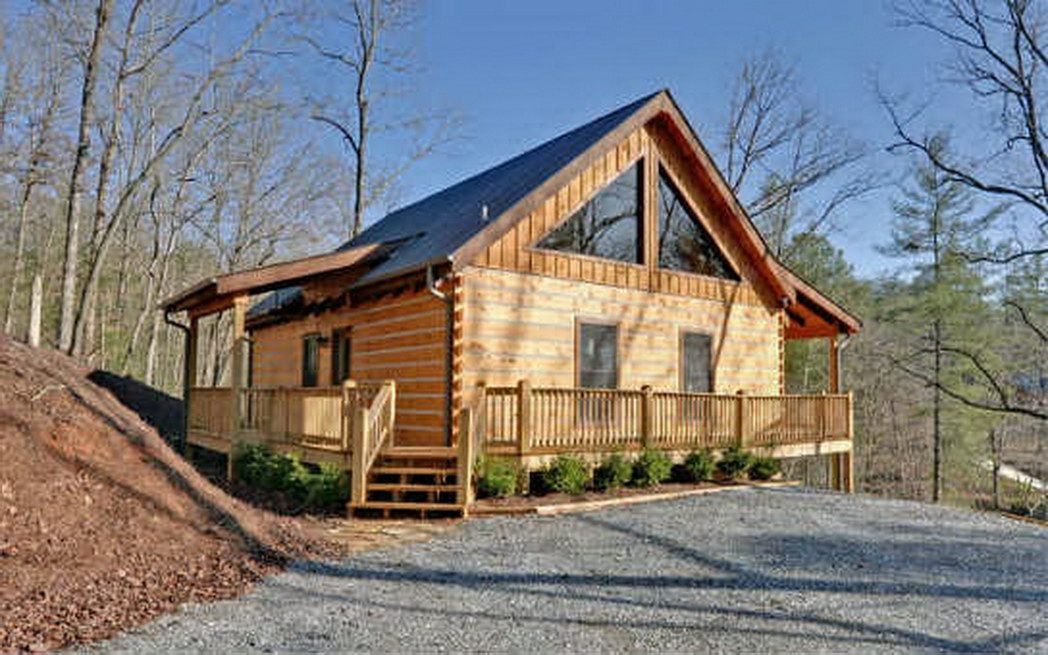 Blue Ridge North Georgia Mountain Log Cabins Homes For