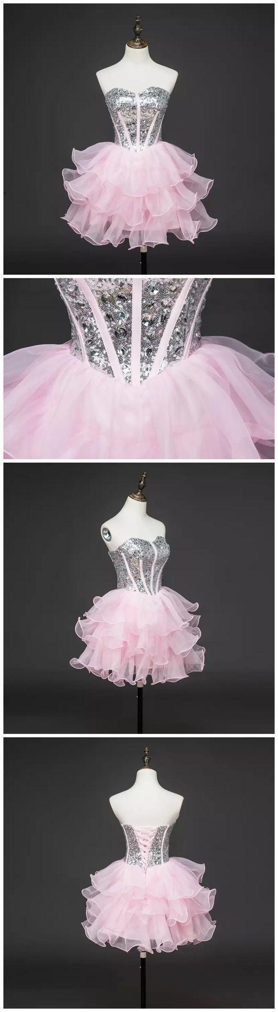 Aline sweetheart short mini tulle short prom dress homecoming