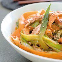 recette de wok de légumes d'hiver, poulet grillé et noix de cajou