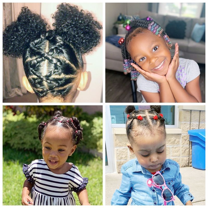 Black Toddler Hairstyles With Images Toddler Hair Girl
