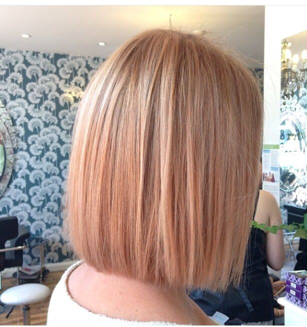 Best Hairstyle Square Face Women Strawberry Blonde Hair Strawberry Blonde Bob Hair Styles