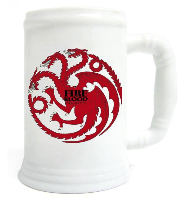 Jarra Juego de Tronos. Casa Targaryen
