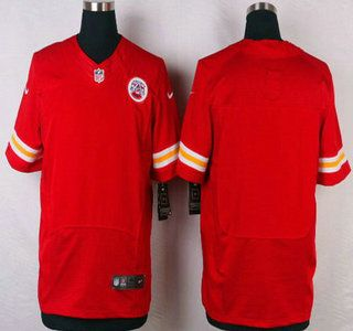 huge selection of b235b b3b6a Kansas City Chiefs Jersey Blank Red Team Color NFL Nike ...