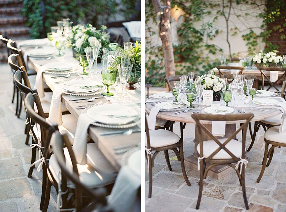 Wedding inspiration linen less tables sophisticated wedding wedding inspiration linen less tables junglespirit Image collections