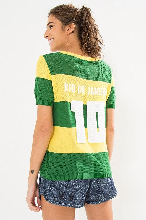 090d7f26b6659 blusa tricot brasil