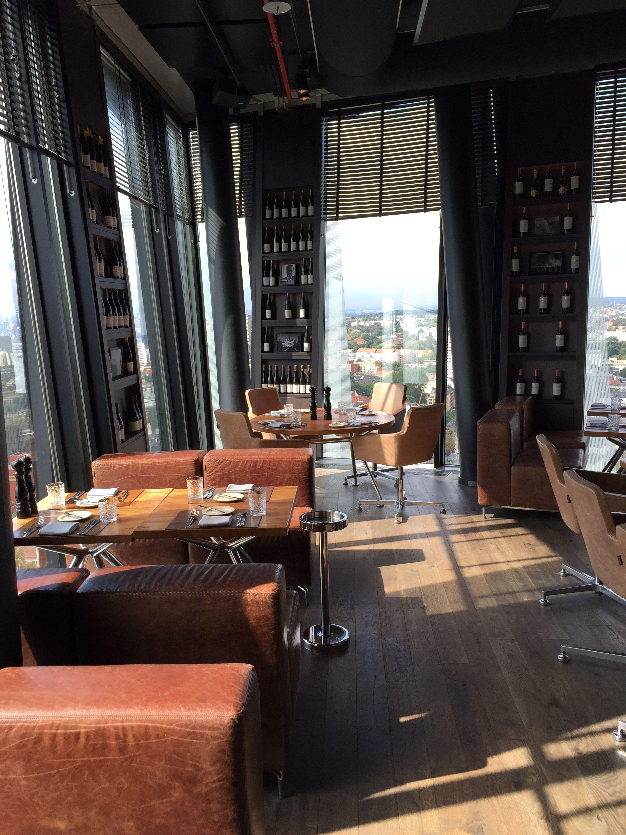 Clouds - Lounge, Restaurant & Bar in Hamburg: Das Restaurant mit Bar ...