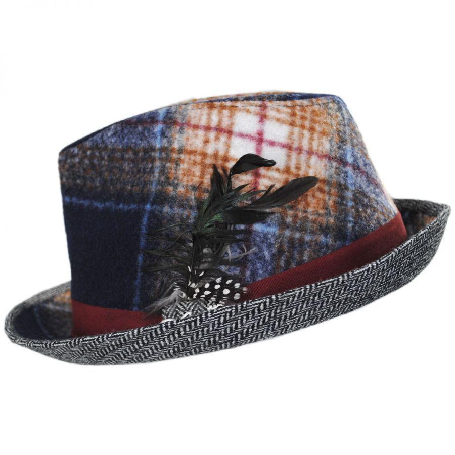 ef67074be6434 Carlos Santana Falsetto Fedora Hat