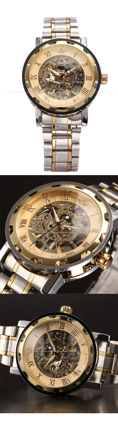 Love Steampunk?! Get This Limited Edition Steampunk Watch, not sold in stores! Check it out here: https://www.steampunkempirestore.com/products/gold-skeleton-steel-watch