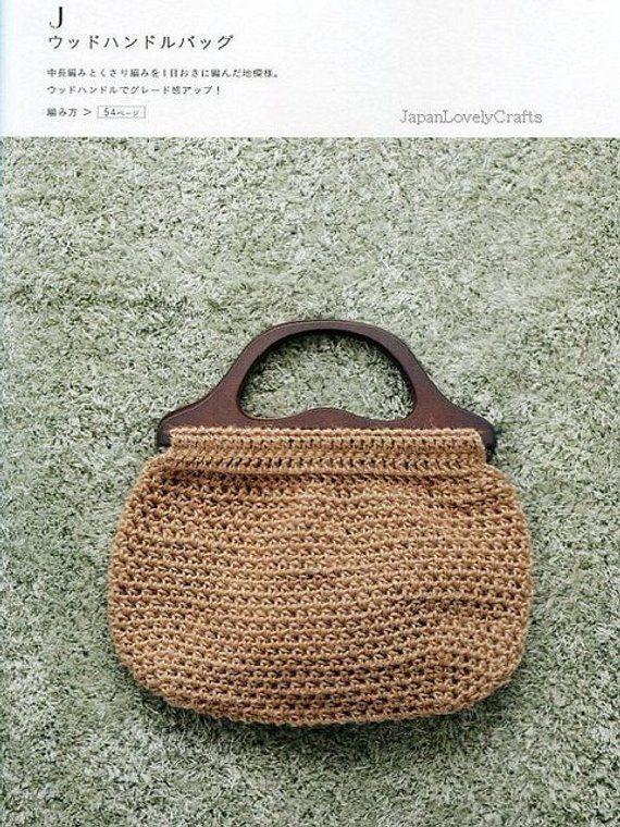 Linen And Hemp Thread Bag Eriko Aoki Japanese Crochet Pattern