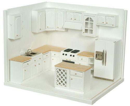 Kitchen Set Modern WhiteOak 16pc I could build this box I