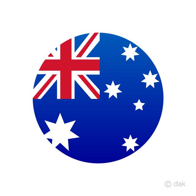Free Australia Circle Flag Image Illustoon In 2020 Australia Flag New Zealand Flag Australia