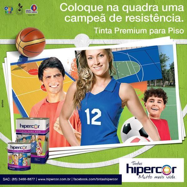Anúncio Tintas Hipercor - Tinta para piso