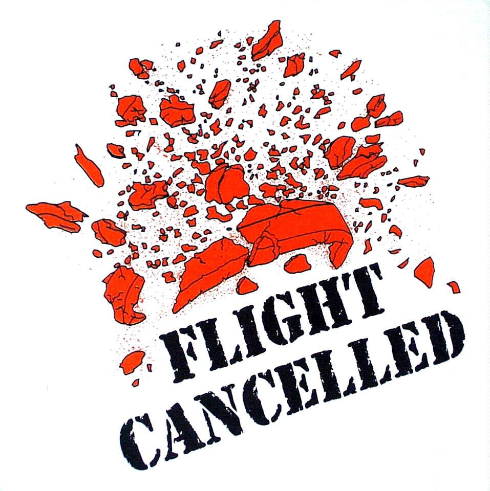 Flight Cancelled Trap shooting, Clay shooting, Sticker
