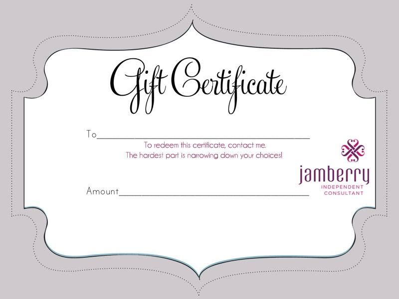 The perfect gift - A Jamberry gift card! Let her pick out her own ...