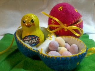 Heartfelt creations by lisa wet felted easter egg surprises heartfelt creations by lisa wet felted easter egg surprises easter giftpreschool negle Gallery