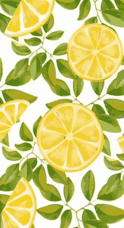 Stampa Lemon Stampe Di Alessia X Small Lemon Art Ipad Wallpaper Watercolor Fruit Wallpaper
