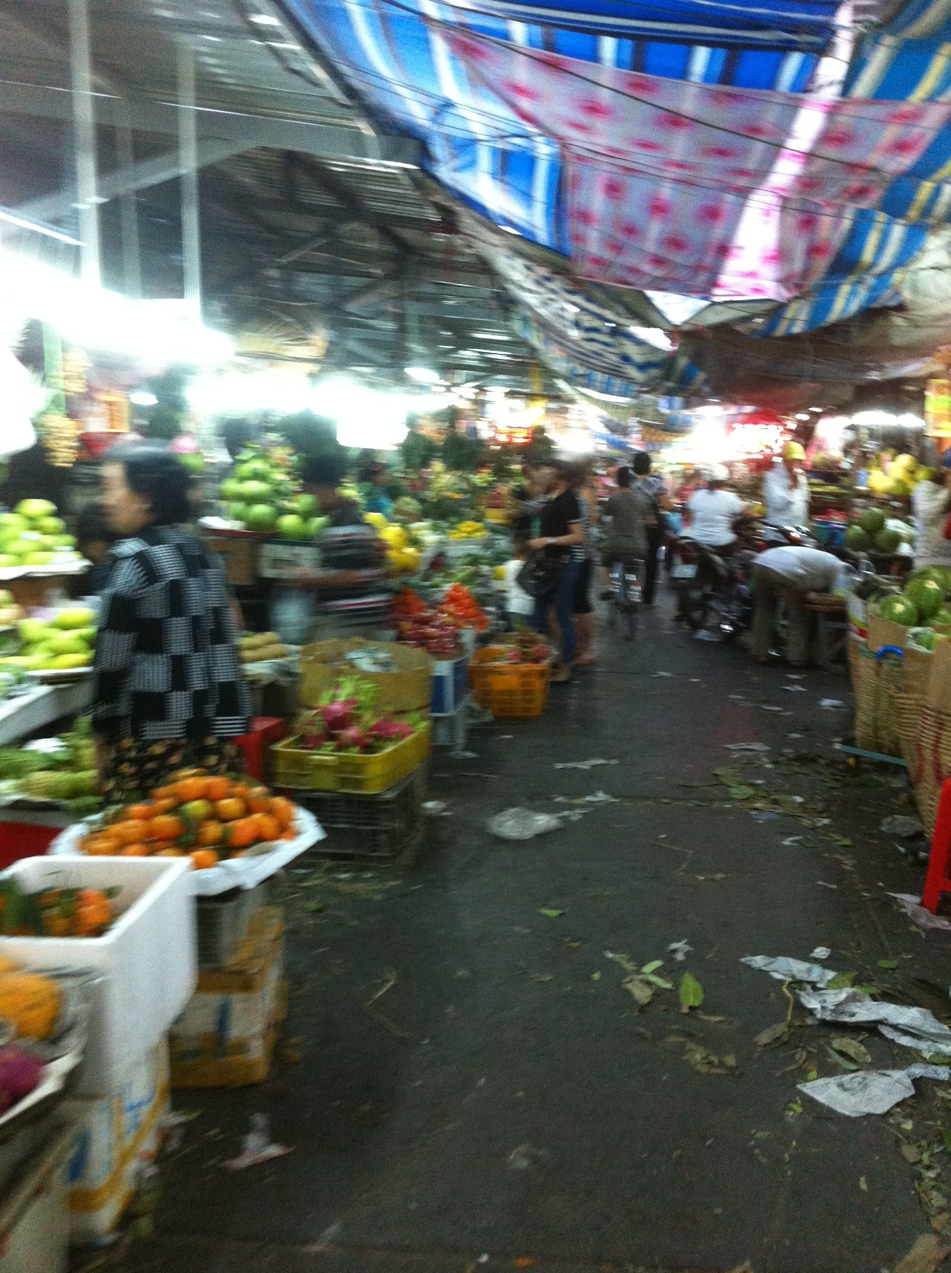 Tet, Vietnam (Ba Chieu market) 2014