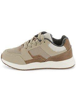 Zapatos niño - Zapatillas deportivas de dos materiales - Kiabi ... c2151f4d86d