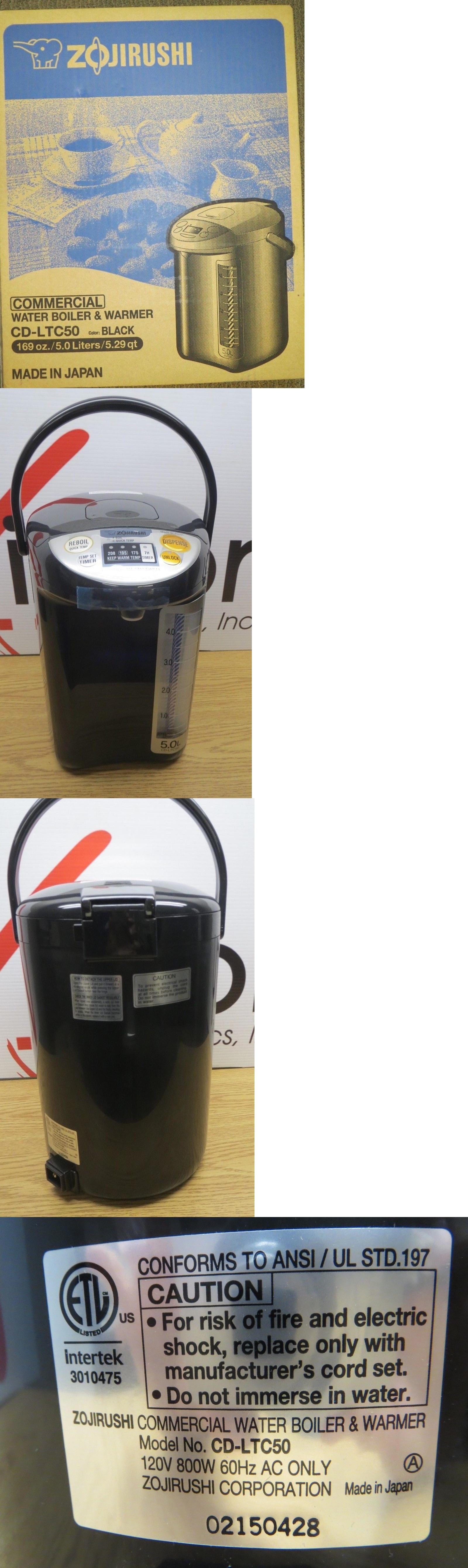 Hot Water Pots 177755: Nob Zojirushi Cd-Ltc50-Ba Commercial Water ...