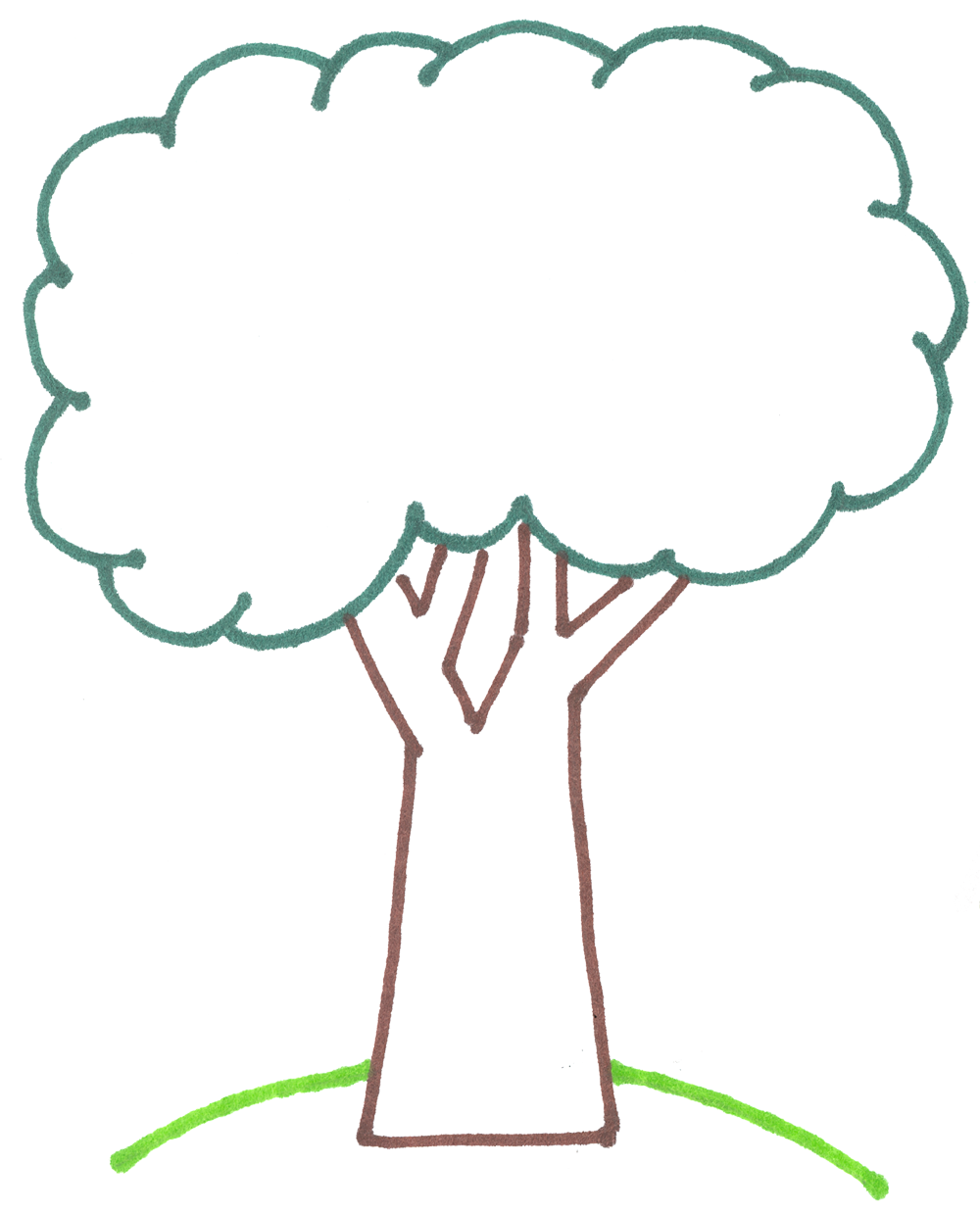 Image result for outline of a tree Palm tree clip art