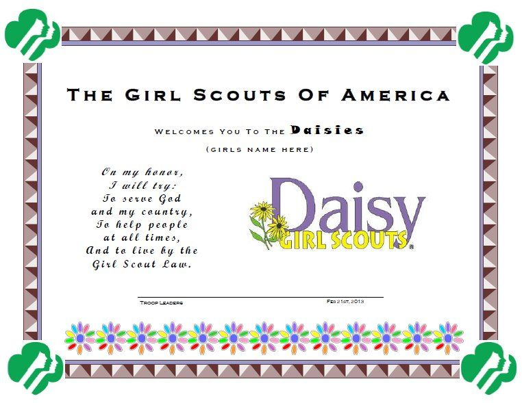 Daisy Investiture Poem | just b.CAUSE