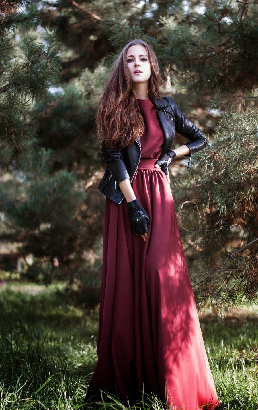 Black gloves for gown - Gloves Good Girl Gone Bad Burgundy Gown Black Moto Leather