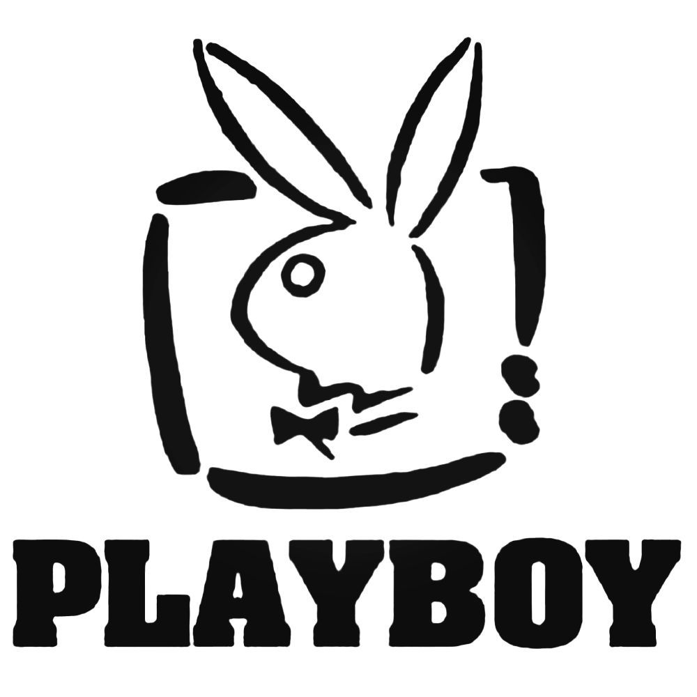 Playboy style 3 decal sticker ballzbeatz com