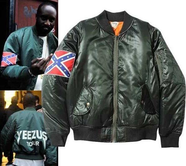 Kanye West Yeezus Tour Ma1 Jackets Limit Edition Black Green Colors Yeezy Flight Parkas Merch Bomber White Jacket Coa Kanye West Yeezus White Jacket Kanye West