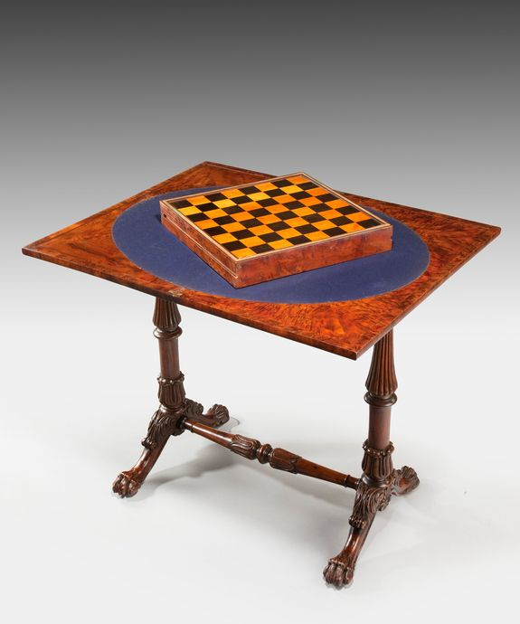 Whether you are playing bridge, chess or even Monopoly an #antique card or games table will greatly add to your home!