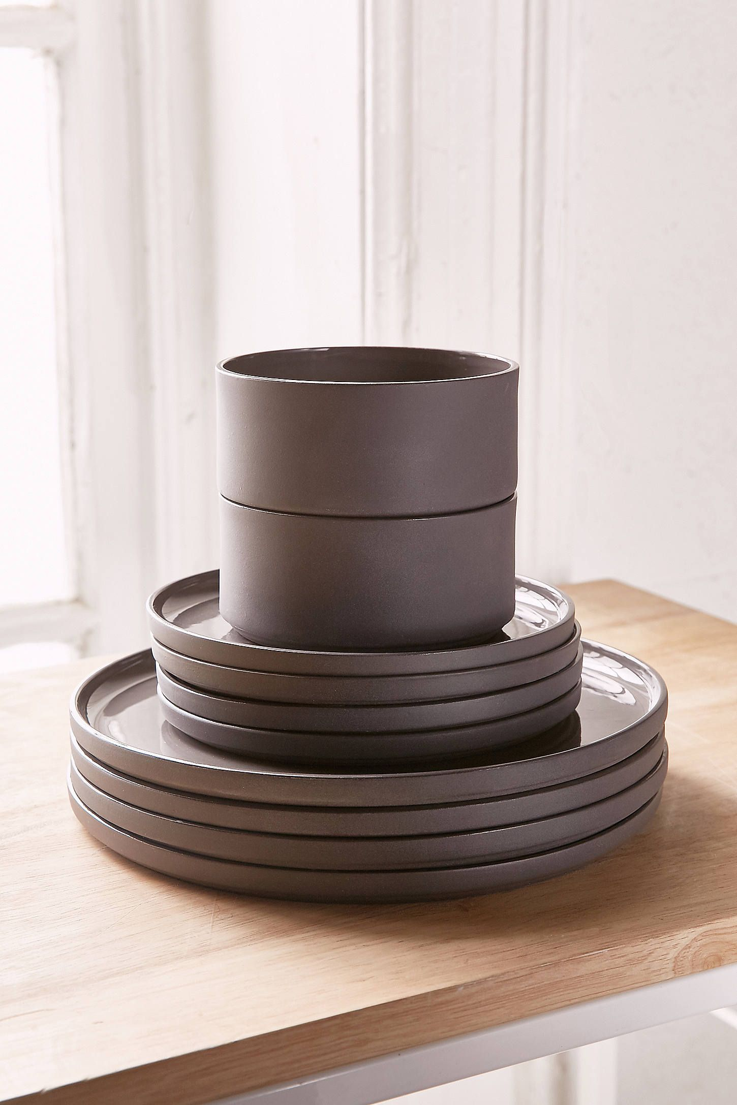 Shop 12-Piece Modern Dinnerware Set at Urban Outfitters today. We carry all the & 12-Piece Modern Dinnerware Set | Modern dinnerware Dinnerware and ...