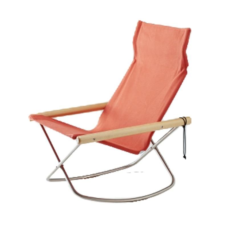 Ny Chair X Rocking Vermillion In 2020 Mid Century Rocking Chair Chair Chair And Ottoman