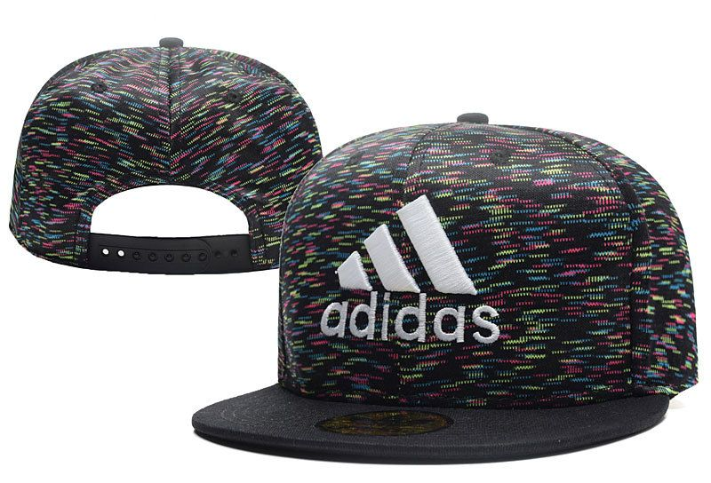 Men's Adidas 3 Striped 3D Logo Embroidery Limited Edition Snapback Hat - Grey / Black