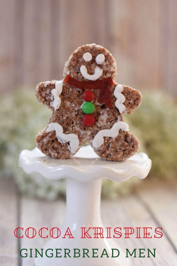 Cocoa Krispies Gingerbread Men All Things Target Christmas
