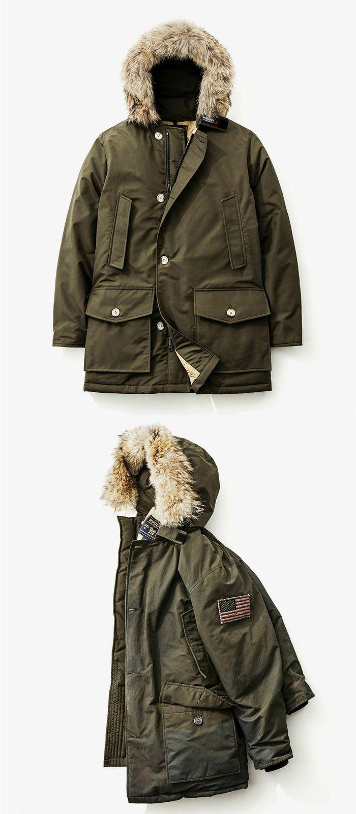 premium selection d3293 4f1c8 woolrich | Casual Outdoor | Woolrich jacken, Jacken herren ...