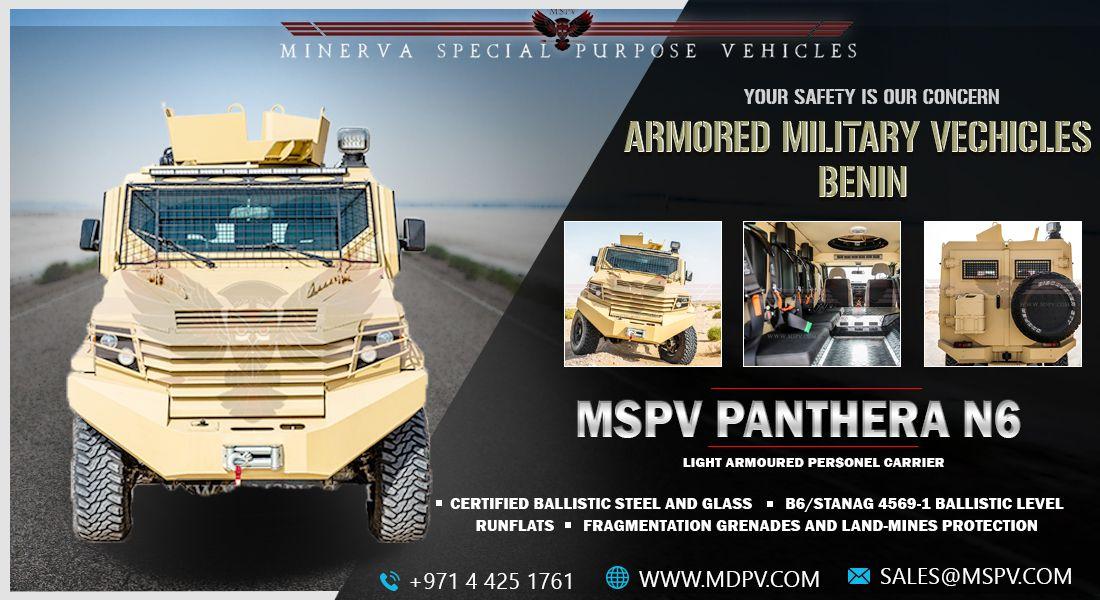 Armoured/Bulletproof Panthera N6 Personnel Carrier Benin