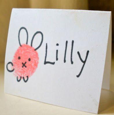 Crachá de mesa infantil | crianças | Pinterest