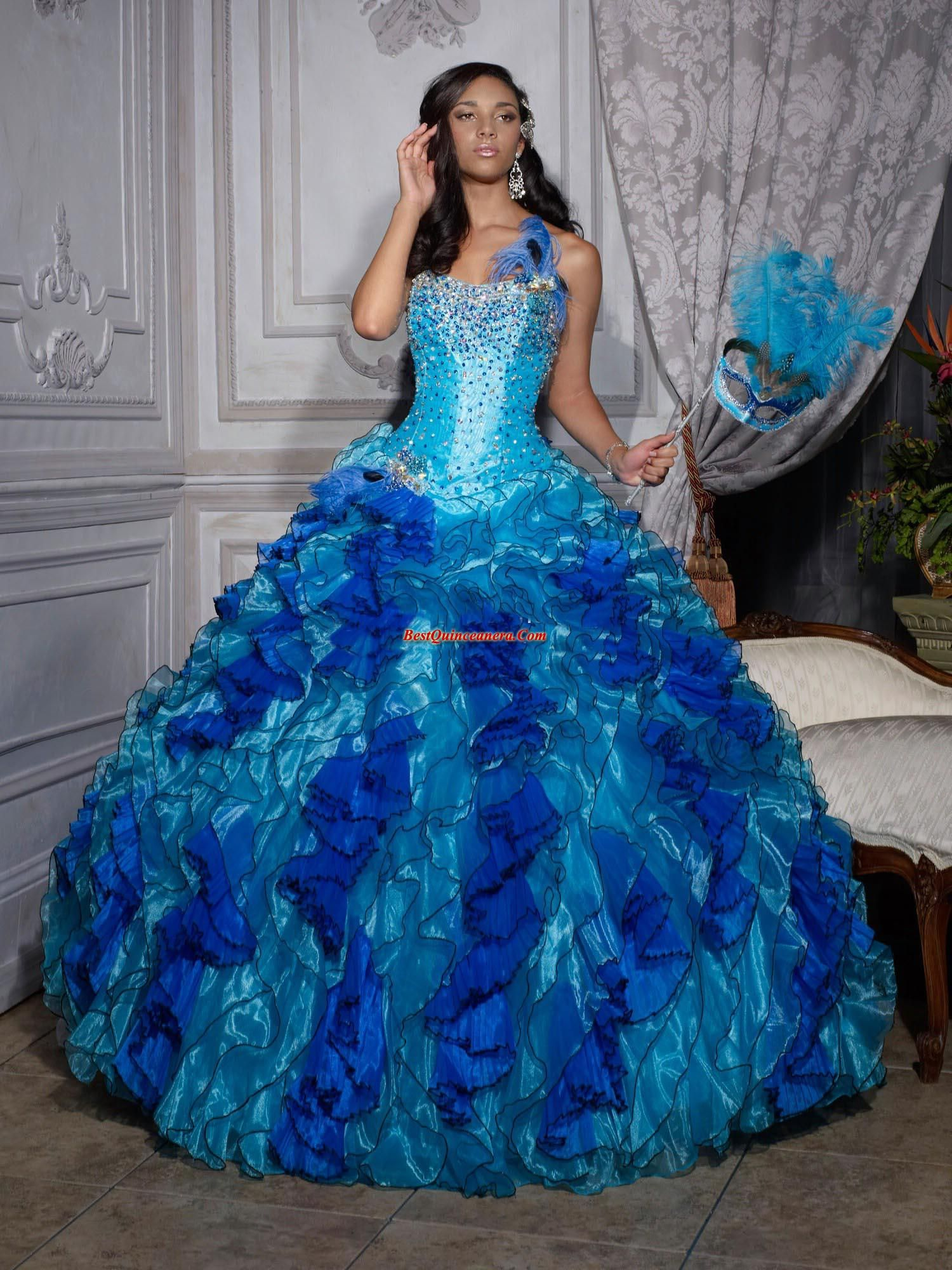Quinceanera dresses blue and purple quinceanera dresses
