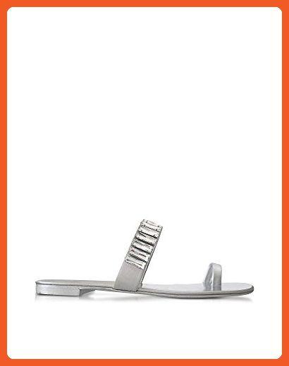 ff04a80ff Giuseppe Zanotti Design Women s E70093003 Silver Leather Sandals - Sandals  for women ( Amazon Partner-Link)
